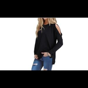 Tops - 🌸Cold Shoulder Miranda Top